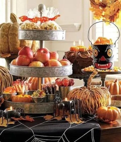 Thanksgiving Mantel Decorating Ideas Rustic