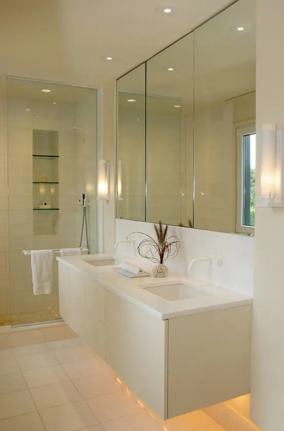 Cedar House With Creamy Interior Design Digsdigs