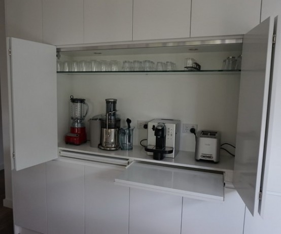 Small Kitchen Design One Wall