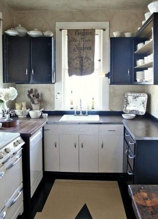 Narrow L Shaped Kitchen