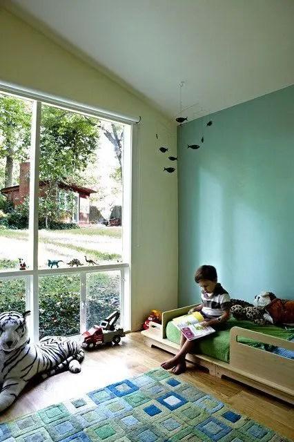 31 Cute Mid Century Modern Kids Rooms Dcor Ideas DigsDigs