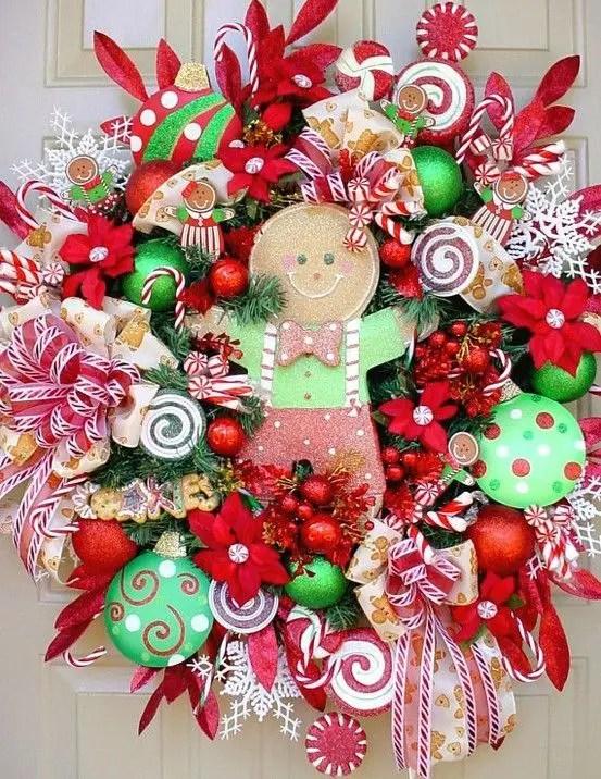Gingerbread Joy Sign Matching Standing Christmas