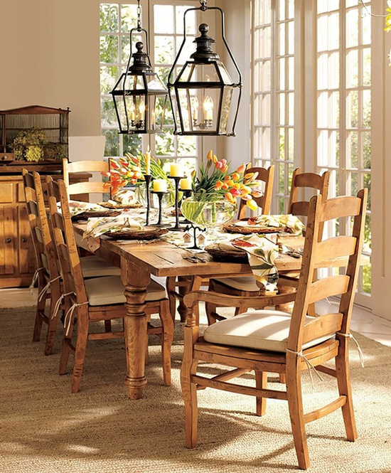 30 Dining Room Decor Ideas Inspired By Spring Itself DigsDigs