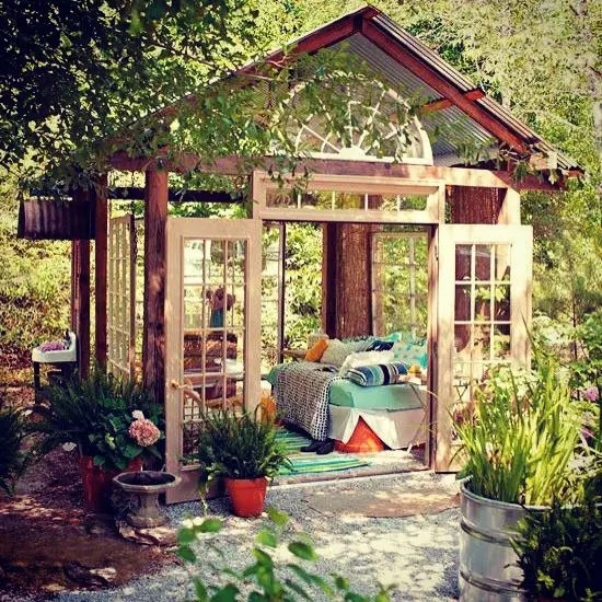 Outdoor Decor Ideas Exterior Colorful Enchanted Fairytale Bedroom Encased in Glass Surrounded by Nature
