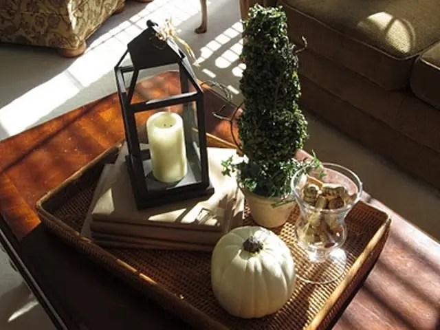 43 Fall Coffee Table Dcor Ideas DigsDigs