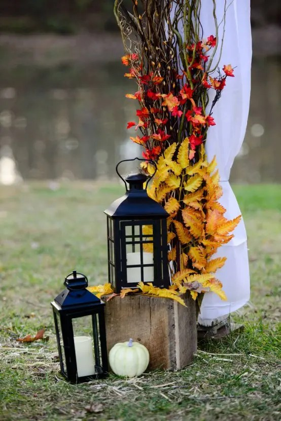 59 Fall Lanterns For Outdoor And Indoor D    cor   DigsDigs Fall Lanterns For Outdoor And Indoor Decor