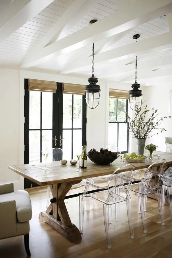 34 Farmhouse Dining Rooms And Zones To Get Inspired | DigsDigs