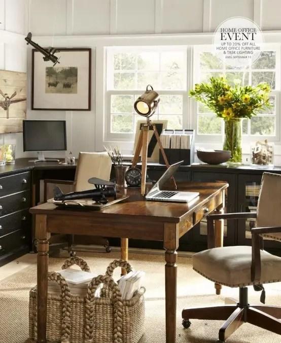 Work In Coziness 20 Farmhouse Home Office D 233 Cor Ideas