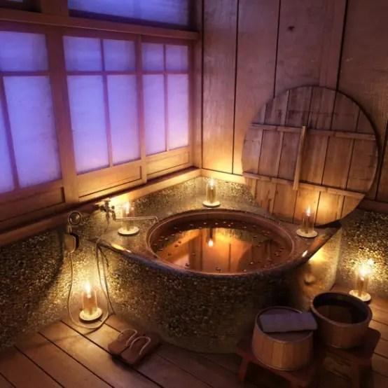 Rustikt badrum annorlunda