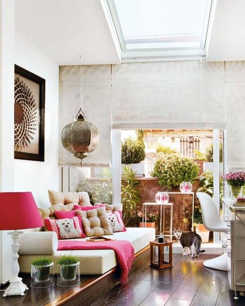 40 Floppy But Refined Boho Chic Home Office Designs DigsDigs