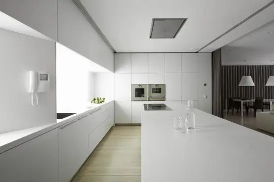 37 Functional Minimalist Kitchen Design Ideas DigsDigs