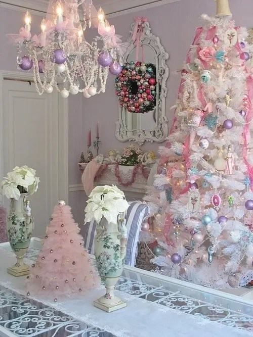 25 Glamorous Pastel Christmas Dcor Ideas DigsDigs