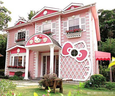 hello kitty house design digsdigs