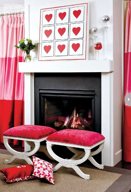 40 Hot Red Valentine Home Dcor Ideas DigsDigs