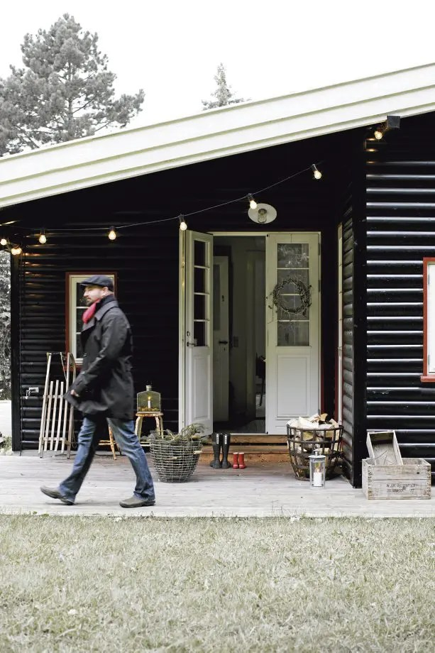 House In Scandinavian Minimalism With Vintage Digsdigs