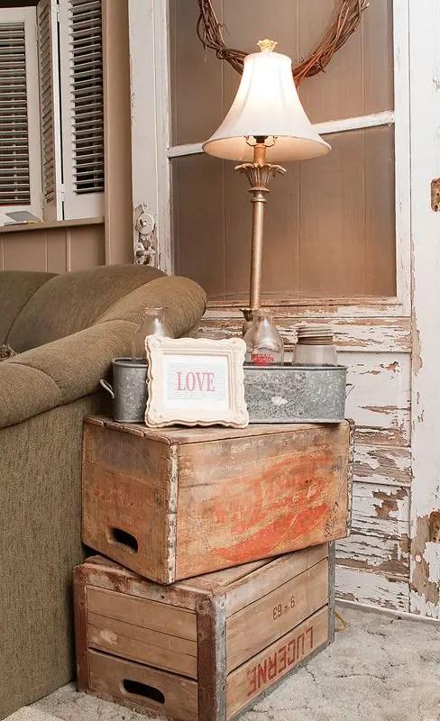 Rustic Wood Living Room Furniture