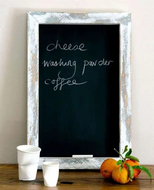 How To Use Chalkboard Pieces For Home Dcor 35 Cool Ideas