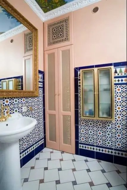 Eastern Luxury 48 Inspiring Moroccan Bathroom Design Ideas DigsDigs