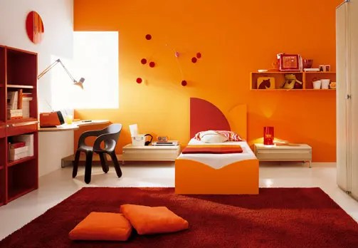 Kids Room Decor Orange