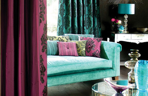 111 Bright And Colorful Living Room Design Ideas Digsdigs. Bold Color Combo Pink  Teal ... Part 41
