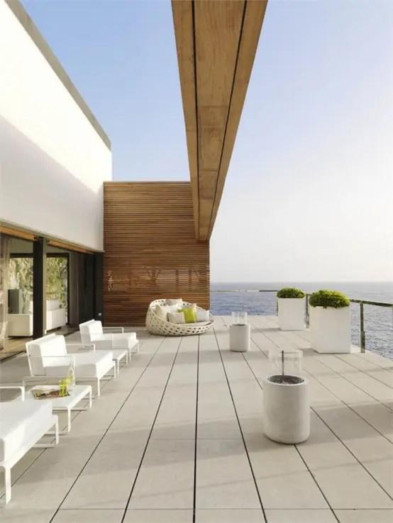 33 Minimalist Terrace And Deck Dcor Ideas DigsDigs