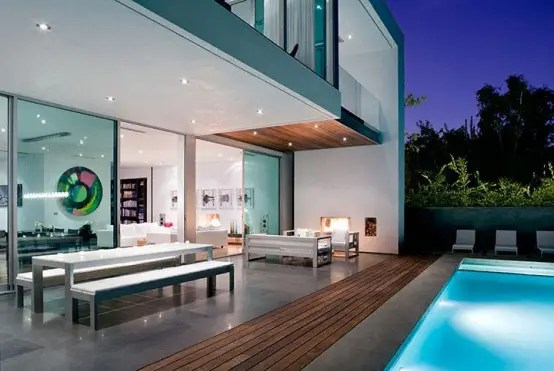 Simple Modern House With Amazingly Comfy Interior Digsdigs
