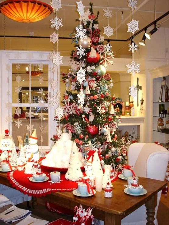 Decoration Christmas Home Decor Ideas Decorations Captivating Decorating In The Most