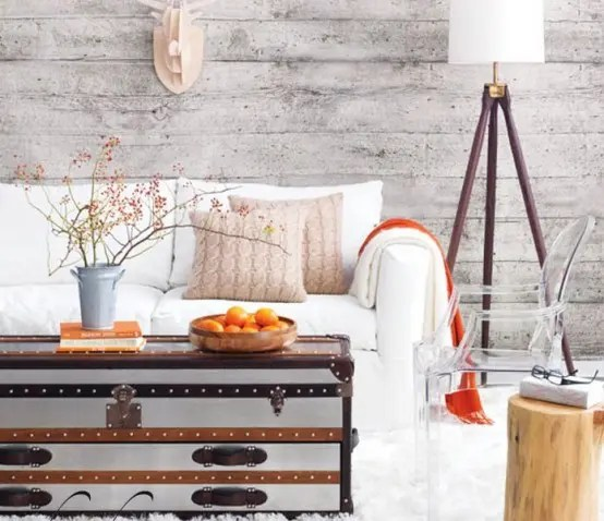 34 Relaxed White Wash Wood Walls Designs DigsDigs