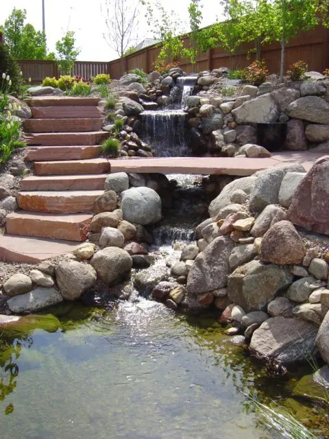 Backyard Fountain Ponds
