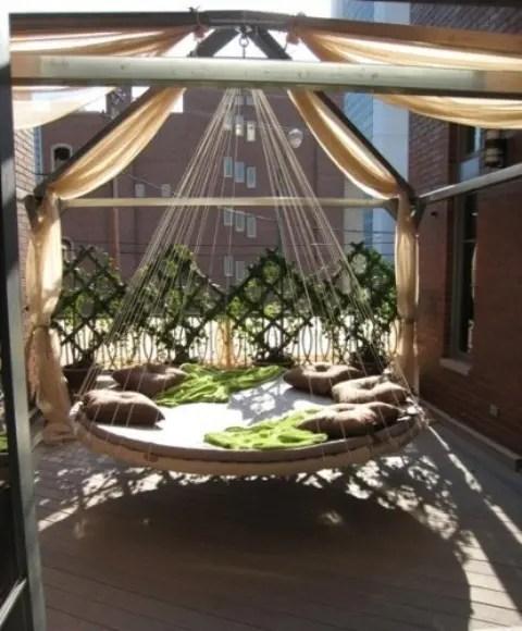 Outdoor Deck Swings
