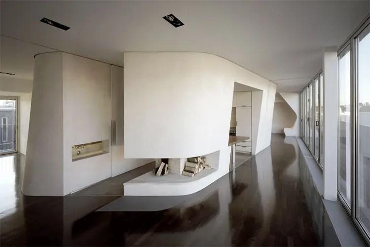 Roof Top Loft Design In Berlin Loft Gleimstrasse By