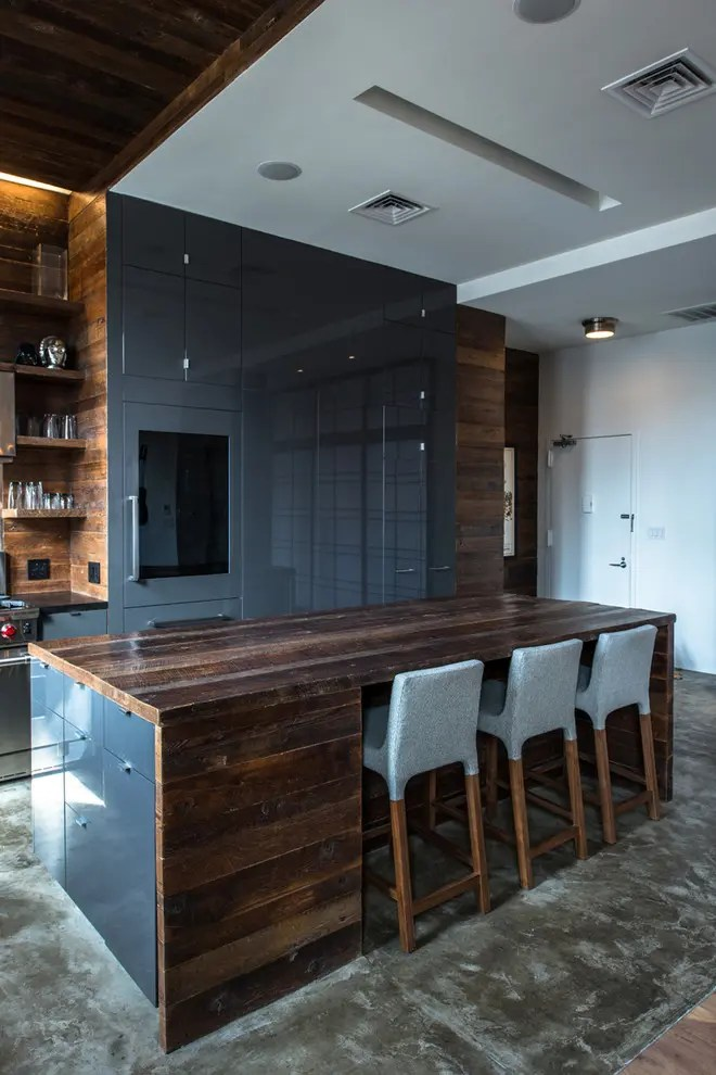 59 Cool Industrial Kitchen Designs That Inspire