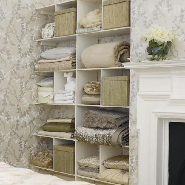 Organization Ideas, Storage Ideas, Bedroom Ideas, Bedroom Storage Ideas