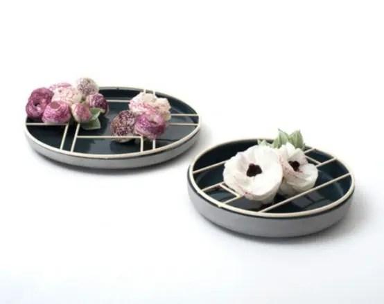 Soe Cups And Ikebana Bowls For Flower Arrangements DigsDigs