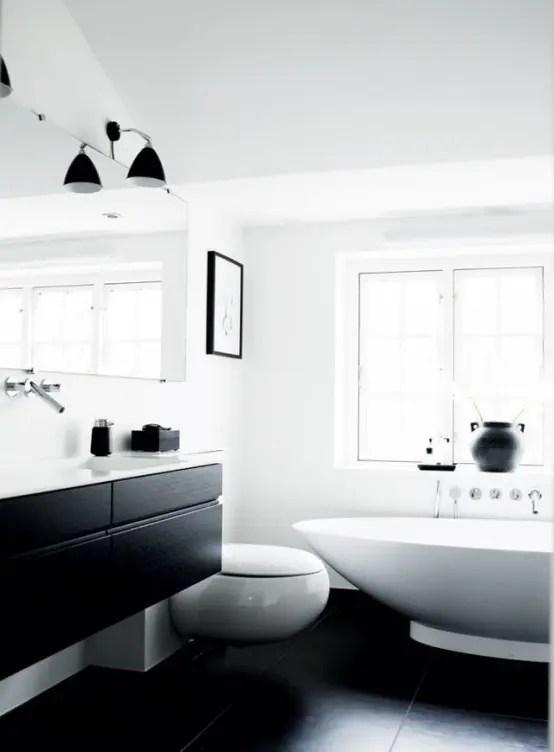 45 Stylish And Laconic Minimalist Bathroom Dcor Ideas DigsDigs