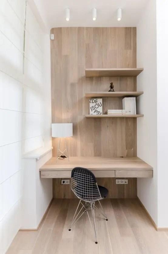 37 Stylish Super Minimalist Home Office Designs DigsDigs