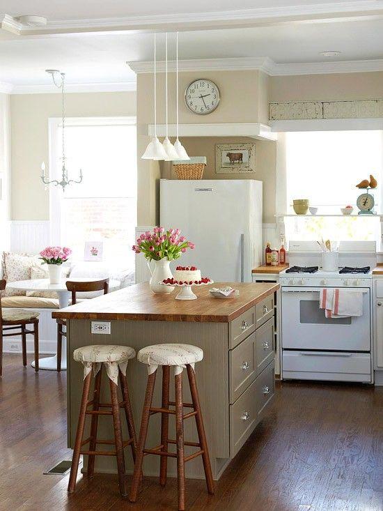 Small Kitchen Design Pinterest