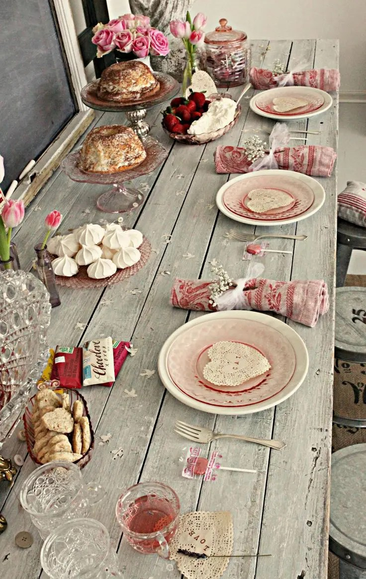 40 Sweet Shabby Chic Valentine S Day D 233 Cor Ideas
