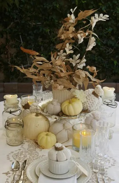 35 Tender White Thanksgiving Dcor Ideas DigsDigs