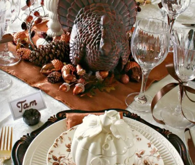 Turkey Decorations For Your Thanksgiving Table