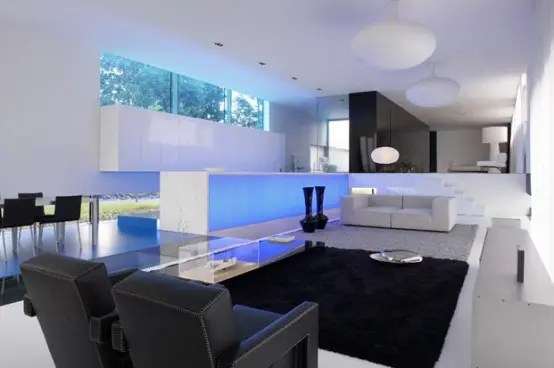 Extravagant Ultra Modern House Lofthouse By Luc Binst DigsDigs