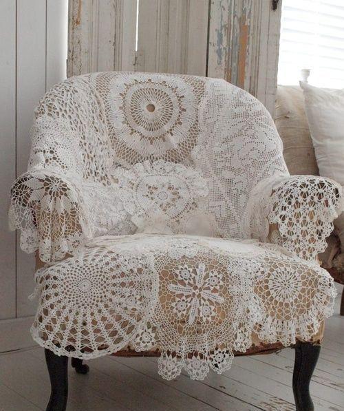 Vintage Romance 33 Lace Home Dcor Ideas DigsDigs