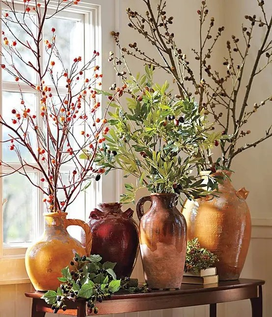 Fall Dcor With Branches 37 Awesome Ideas DigsDigs