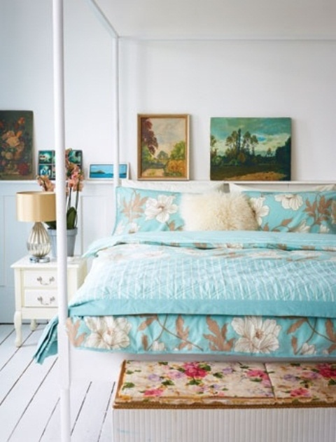 44 Wonderful Spring Inspired Bedroom Decorating Ideas