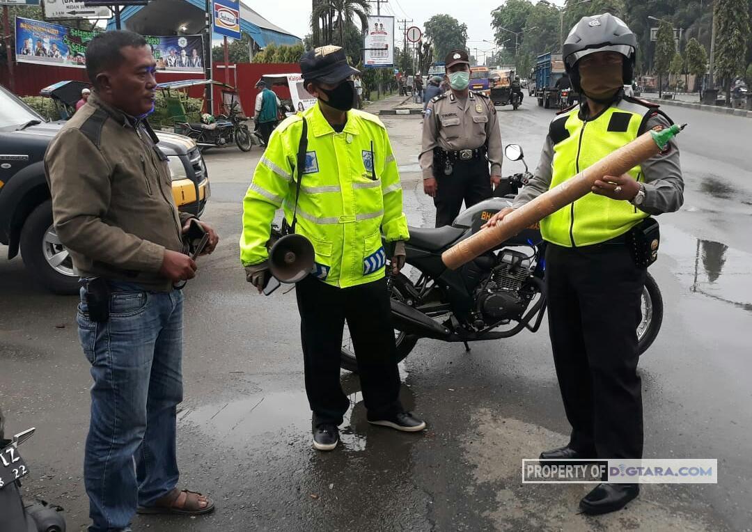 Patroli Asmara Subuh, Polisi Sita Petasan dan Meriam