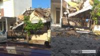 Cemara Asri Sumut Meledak Diduga Ledakan Gas, Satu Rumah di Komplek Cemara Asri Ambruk