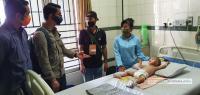 Kapolri Melalui Kabaharkam Bantu Balita Penderita Meningitis di Deliserdang