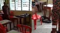 Ular Kobra Besar Bersarang di Meja Sekolah