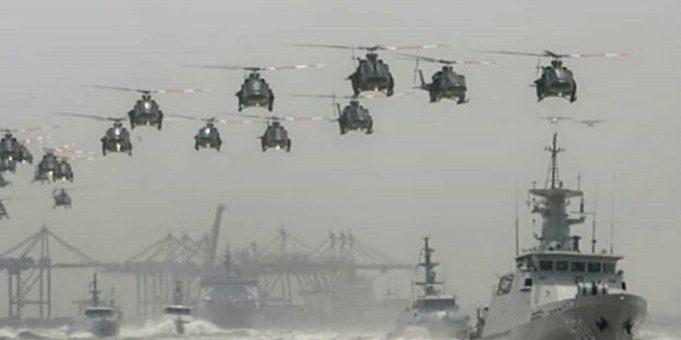 Konflik di Laut China Selatan yang melibatkan Amerika Serikat dan China