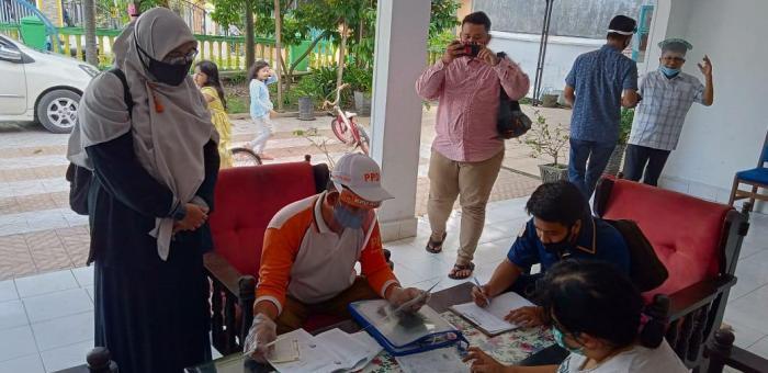Wujudkan DPT Berkualitas, KPU Medan Pantau Coklit PPDP